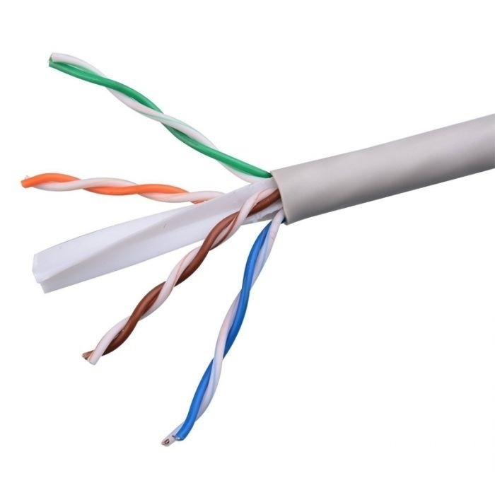 کابل شبکه CAT6 حلقه ای ۳۰۵ متری دی لینک UTP مدل Dlink NCB-C6UGRYR-305